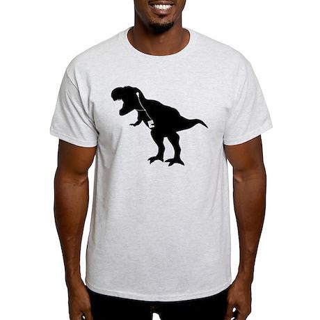 Cool dancing mp3 T-REX dinosaur design Light T-Shi