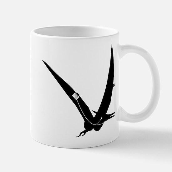 Music Loving Pterodactyl dinosaur design Mug
