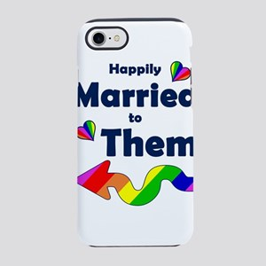 Married to Them Left Arrow iPhone 7 Tough Case