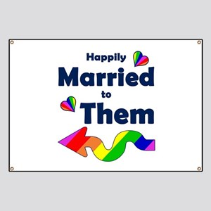 Married to Them Left Arrow Banner