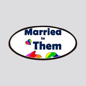 Married to Them Left Arrow Patch