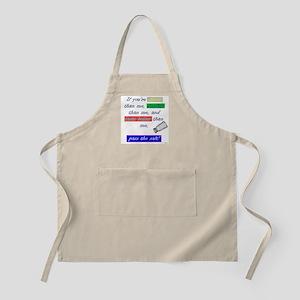 Pass the Salt BBQ Apron