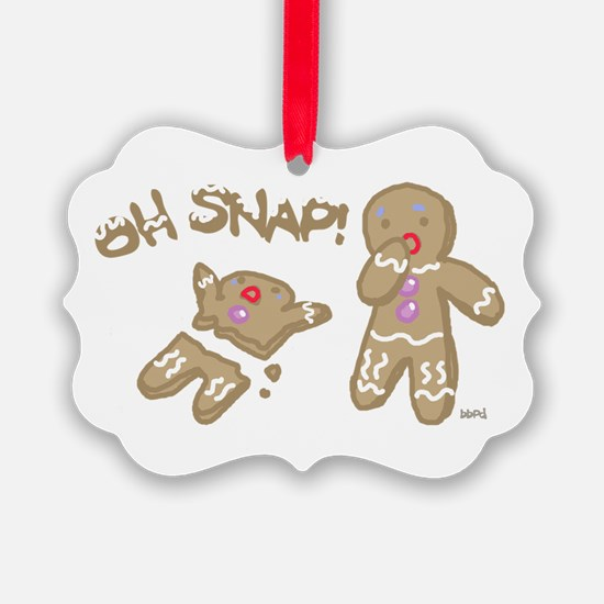 Oh Snap Holiday Ornament