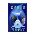 Earth Song Mini Poster Print