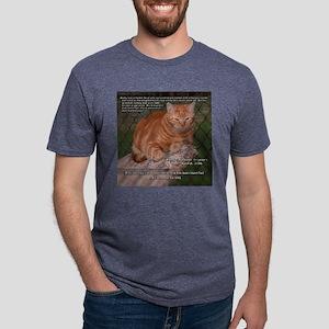 October_Rusty_Vert Mens Tri-blend T-Shirt
