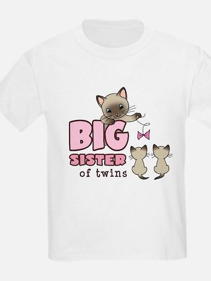 Big Sister of Twins (Kitty) T-Shirt