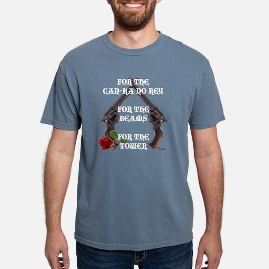 GUNSLINGERS 10x10-001-10 Mens Comfort Colors Shirt