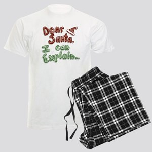 Dear Santa Men's Light Pajamas