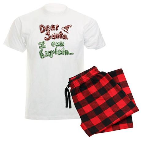 Dear Santa Men's Light Pajamas
