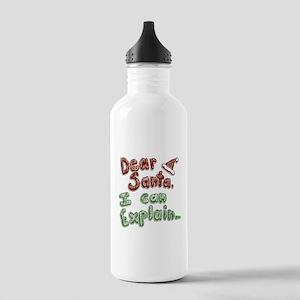 Dear Santa Stainless Water Bottle 1.0L