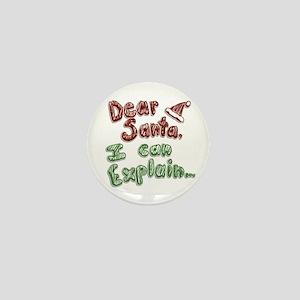 Dear Santa Mini Button