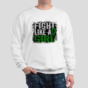 Licensed Fight Like a Girl 31.8 Kidney Sweatshirt