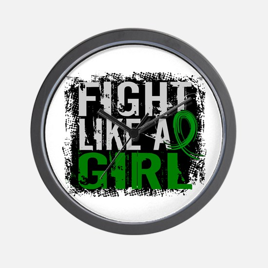 Licensed Fight Like a Girl 31.8 Kidney Wall Clock