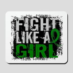 Licensed Fight Like a Girl 31.8 Kidney D Mousepad