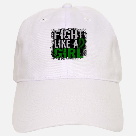 Licensed Fight Like a Girl 31.8 Liver Cancer Baseball Baseball Cap