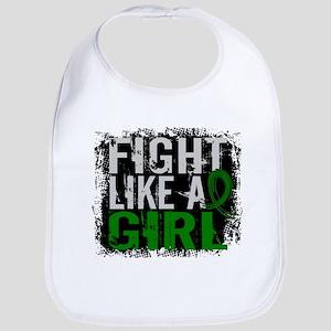 Licensed Fight Like a Girl 31.8 Liver Cancer Bib
