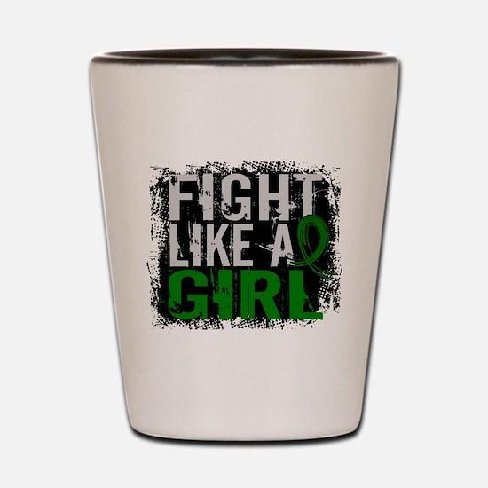 Licensed Fight Like a Girl 31.8 Liver C Shot Glass