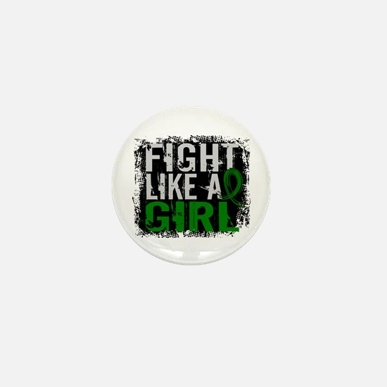 Licensed Fight Like a Girl 31.8 Liver Mini Button