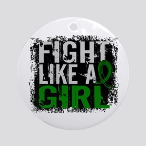 Licensed Fight Like a Girl 31.8 L Ornament (Round)