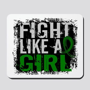 Licensed Fight Like a Girl 31.8 Liver Ca Mousepad