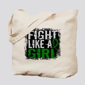 Licensed Fight Like a Girl 31.8 Liver Can Tote Bag