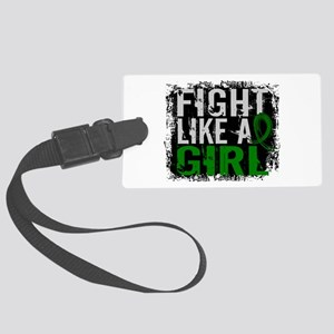 Licensed Fight Like a Girl 31.8 Large Luggage Tag
