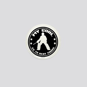 My Goal, Field Hockey Goalie Mini Button