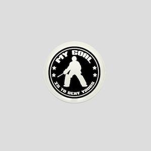 My Goal, Field Hockey Goalie Mini Button