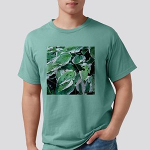 Slug-damaged leaves Mens Comfort Colors Shirt