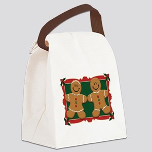 gingerbread_couple2 Canvas Lunch Bag
