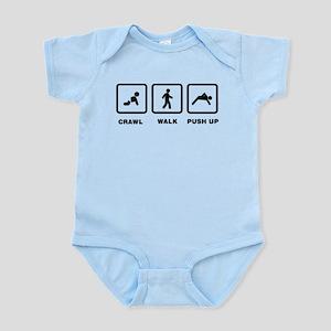 Push Ups Infant Bodysuit
