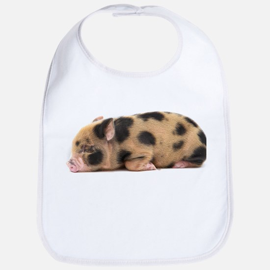 Micro pig sleeping Bib