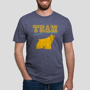 am cocker spanW Mens Tri-blend T-Shirt