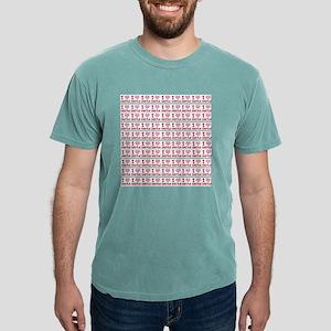 I Heart Castle (curtains Mens Comfort Colors Shirt
