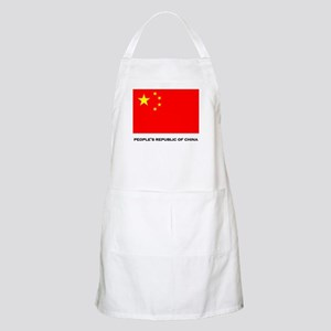 China Flag Stuff BBQ Apron