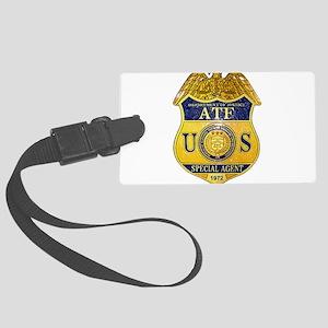 ATF badge Large Luggage Tag
