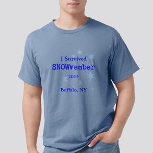SNOWvember Mens Comfort Colors Shirt