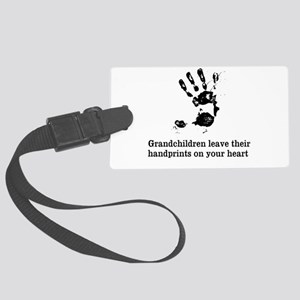handprints Large Luggage Tag