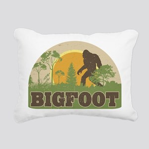 Bigfoot Rectangular Canvas Pillow