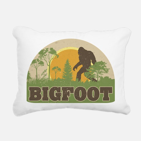Bigfoot Rectangular Canvas Pillow