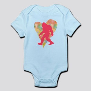 Bigfoot Heart Infant Bodysuit