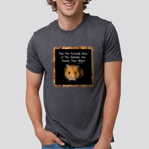 The Hamster Mens Tri-blend T-Shirt
