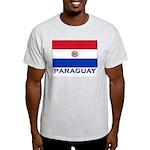 Flag of Paraguay Ash Grey T-Shirt