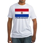 Flag of Paraguay Fitted T-Shirt