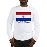 Flag of Paraguay Long Sleeve T-Shirt