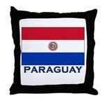 Flag of Paraguay Throw Pillow
