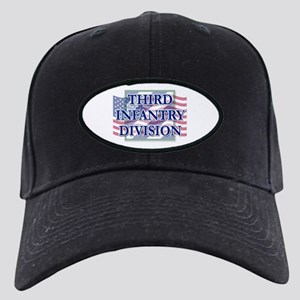 3ID Logo/Us Flag Black Cap