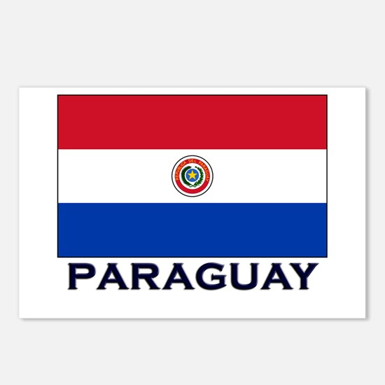 Paraguay Flag Stuff Postcards (Package of 8)