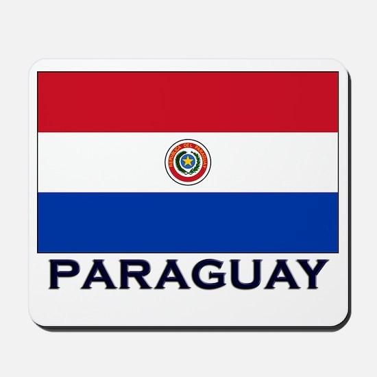 Paraguay Flag Stuff Mousepad