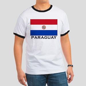 Paraguay Flag Stuff Ringer T
